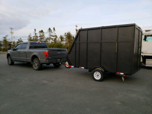 Polaris enclosed trailer