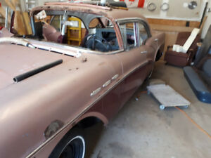 1957 BUICK CENTURY 4 DOOR POST SOLD WHOLE OR PIECES