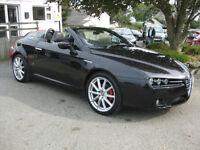 "2007/57 Alfa Romeo Spider 2.2 JTS CONVERTIBLE~BLACK LEATHER~19"" ALLOYS"