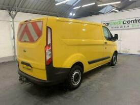 YELLOW FORD TRANSIT CUSTOM 2.0 340 LR P/V *BUY TODAY FROM £270 PER MONTH*