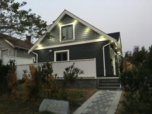 Vancouver West Brand New Laneway House Available Now