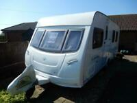 Lunar Lexon 585si, solar panel, fixed bed, caravan for sale