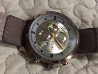 REAL LEATHER RALPH LAUREN WATCH