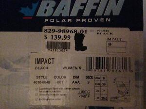 Bottes d'hiver BAFFIN, pour femmes, grandeur 9