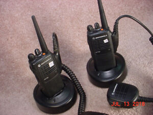 For Sale: Pair of Motorola HT750 VHF 16 Ch Portable Radios