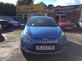 Ford fiesta 1.25 petrol 5 door hatchback 42000 miles £3495