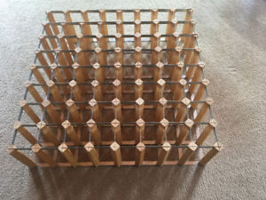 64 position wine rack