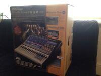 Presonus 16.0.2 digital mixer/sound card