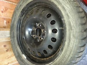 roue et pneu hiver