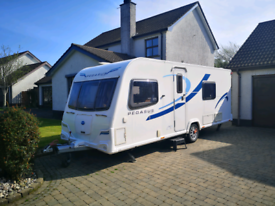2011 Bailey Pegasus2 Verona Four berth with fixed double bed.