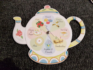 """""""Tea Party Game:  A delicious game for 2-4 players"""".  Ages 5+."""