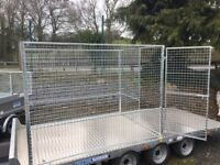 Dog run for dog kennel puppy dogs meshed panel enclosure dog pen