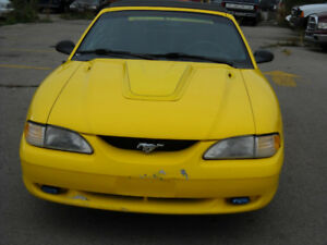 1997 Ford Mustang Convertible 3.8 ltr. 6 cyl.