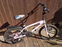 Avigo 20inch bmx bike pink