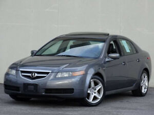 2005 Acura TL SPORT PKG-HEATED LEATHER-SUNROOF-DRIVES EXCELLENT
