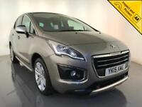 2015 PEUGEOT 3008 ALLURE E-HDI DIESEL AUTO £30 ROAD TAX 1 OWNER SERVICE HISTORY