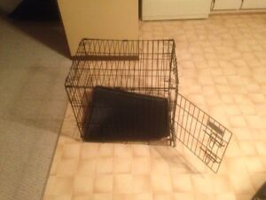 """Dog crate 24"""" long /21"""" high/18 wide"""