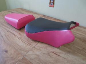 SUZUKI SV 650 NEW CUSTOM FRONT & REAR SEAT