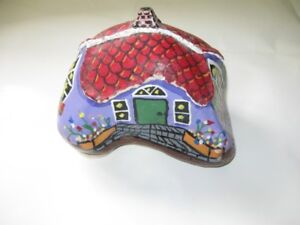 """Hand Painted Rock """"House"""" - NEW  for sale"""
