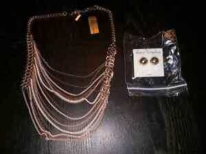 Necklace and earrings Windsor Region Ontario image 2