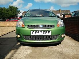 2007 Ford Fiesta 1.4 Zetec Climate Green