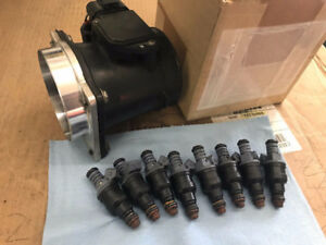 Ford Mustang 24lbs injectors & 90mm Mass Air & 302 starter