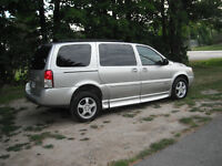 SPECIAL NEEDS 2008 CHEV. UPLANDER SAFTIED AND E-TESTED