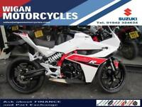 HYOSUNG GD250R EXIV SPORTS AN IMMACULATE BIKE WITH ONLY 658 MILES ON THE CLOCK