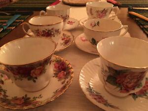 Vintage China Tea cups & Saucers