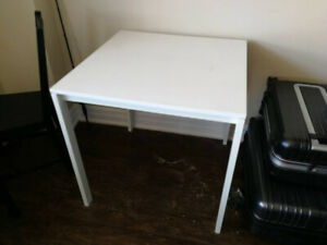 Moving sale - IKEA dining table with 2 chairs