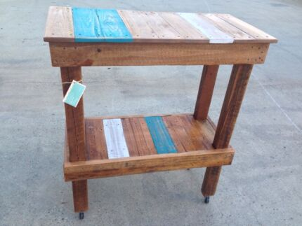 Rustic Kitchen Island Bench Brendale Pine Rivers Area Preview