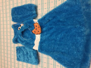 Child Cookie Monster costume