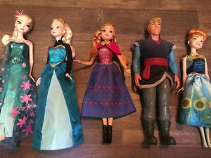 Brand new frozen toys