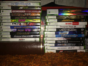 xbox x box 360 games collection cleaned tested prices listed Regina Regina Area image 1