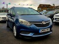2017 Vauxhall Zafira 1.4T Design 5dr MPV Petrol Manual