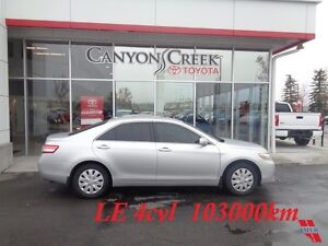 2011 Toyota Camry LE 4cyl Dealer Serviced 1 Owner