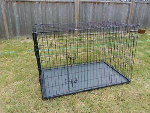 Brand New Dog Crate Pet Cage Dog Kennel 36""