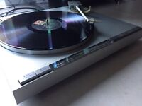 Vintage Teac P-707 Direct Drive Turntable