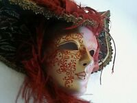 Venetian Masquerade full face mask