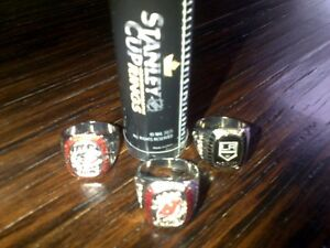Stanley Cup commemorative rings