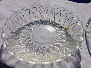 antique glass bowl