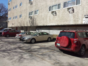 Monthly parking near the University of Winnipeg