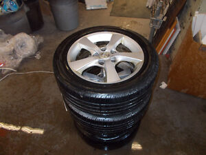 16 rims with tires 5 x 114.3
