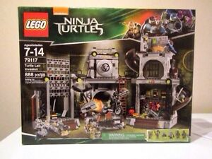 Lego Ninja Turtles - L'invasion du repaire des tortues 79117