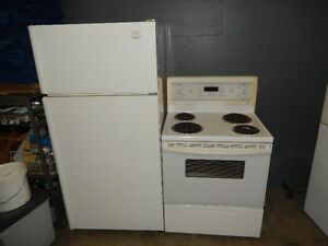 Fridge+stove,both for $60,2011 Maytag fridge $135,can deliver.