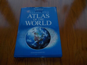 Illustrated Atlas of the World -  4th Revised Ed. Hardcover Book
