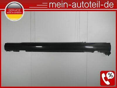 Mercedes C209 W209 CLK Seitenschweller Li ELEGANCE 197 Obsidianschwarz Eleganc D