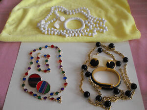 NECKLACE, EARRINGS, BRACELET SETS