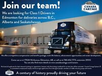 Class 1 Drivers Needed for Dedicated & Non-Dedicated Positions