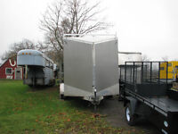 Complete Fireproffing Machine and Enclosed Trailer